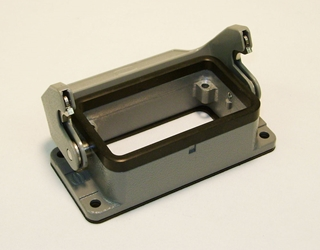 10 Position Single Latch Panel Mount Base