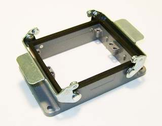 32 Position Double Latch Panel Mount Base
