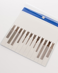DIAMOND FILE KIT DIAMOND TIP FILE 12