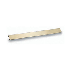 BRASS BLADE STOCK 1 1/8 X .093 X 36""